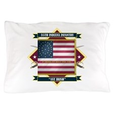35th Indiana -1st Irish (Diamond).png Pillow Case