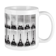 The Construction of the Eiffel Tower Mugs