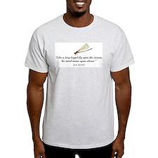 Q_Long leg fly T-Shirt