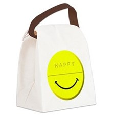 Happy Pill Canvas Lunch Bag