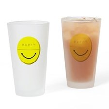 Happy Pill Drinking Glass