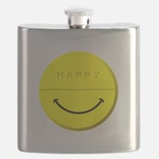Happy Pill Flask