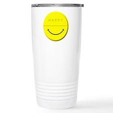 Happy Pill Stainless Steel Travel Mug
