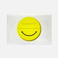 Happy Pill Rectangle Magnet