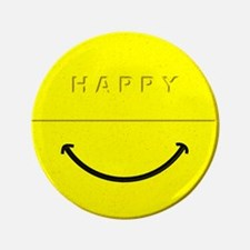 """Happy Pill 3.5"""" Button"""