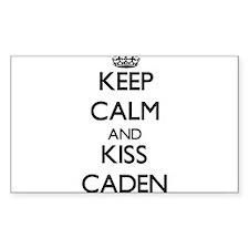 Keep Calm and Kiss Caden Decal