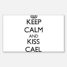 Keep Calm and Kiss Cael Decal