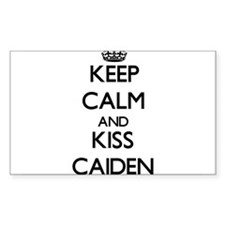 Keep Calm and Kiss Caiden Decal