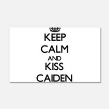 Keep Calm and Kiss Caiden Wall Decal