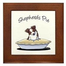 Shepherds Pie Framed Tile