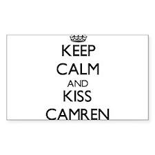 Keep Calm and Kiss Camren Decal