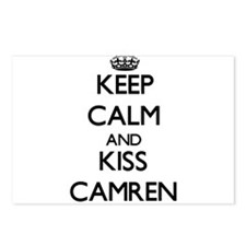 Keep Calm and Kiss Camren Postcards (Package of 8)