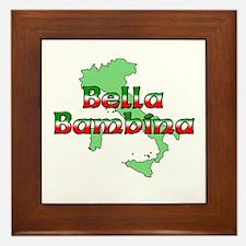 Bella Bambina Framed Tile