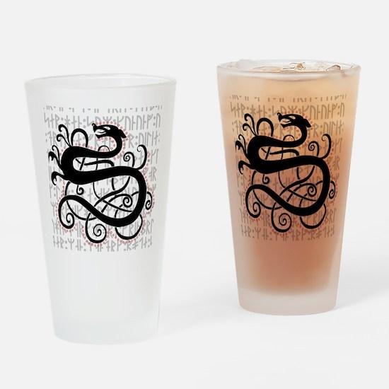 Fanfir, the Nordic Dragon Drinking Glass