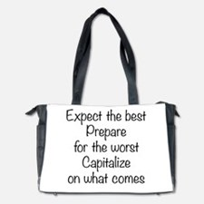 Expect the Best Diaper Bag