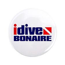 "idive (Bonaire) 3.5"" Button"