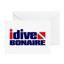idive (Bonaire) Greeting Cards