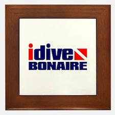 idive (Bonaire) Framed Tile