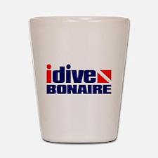 idive (Bonaire) Shot Glass