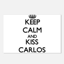 Keep Calm and Kiss Carlos Postcards (Package of 8)