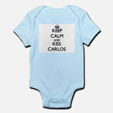 Keep Calm and Kiss Carlos Body Suit