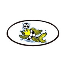 Football Fish Patches