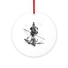 Achilles Ornament (Round)