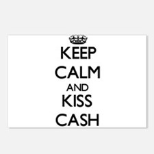 Keep Calm and Kiss Cash Postcards (Package of 8)