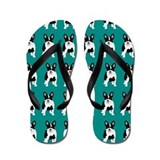 French bulldogs Flip Flops