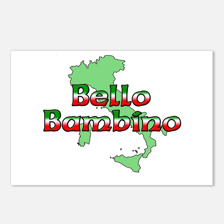 Bello Bambino Postcards (Package of 8)
