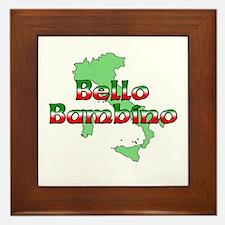 Bello Bambino Framed Tile