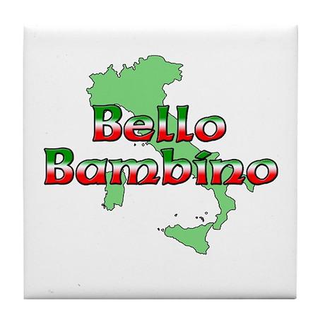 Bello Bambino Tile Coaster