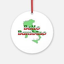 Bello Bambino Ornament (Round)