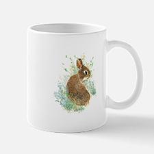 Cute Watercolor Bunny Rabbit Pet Animal Mugs