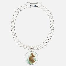 Cute Watercolor Bunny Rabbit Pet Animal Bracelet