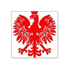 Polish Eagle Red Sticker