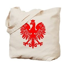 Polish Eagle Red Tote Bag