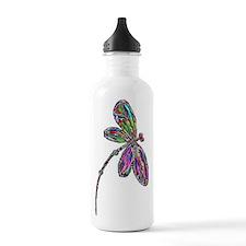 DragonflyNeon Sports Water Bottle