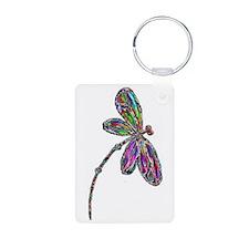 DragonflyNeon Keychains