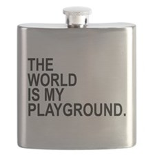 The World Is My Playground Flask