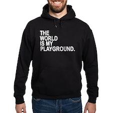 The World Is My Playground Hoody