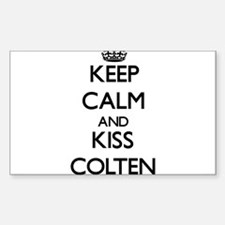 Keep Calm and Kiss Colten Decal