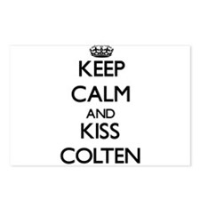 Keep Calm and Kiss Colten Postcards (Package of 8)