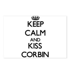 Keep Calm and Kiss Corbin Postcards (Package of 8)