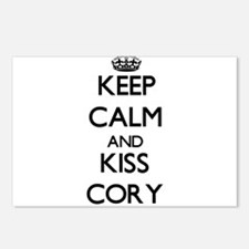 Keep Calm and Kiss Cory Postcards (Package of 8)