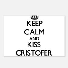 Keep Calm and Kiss Cristofer Postcards (Package of