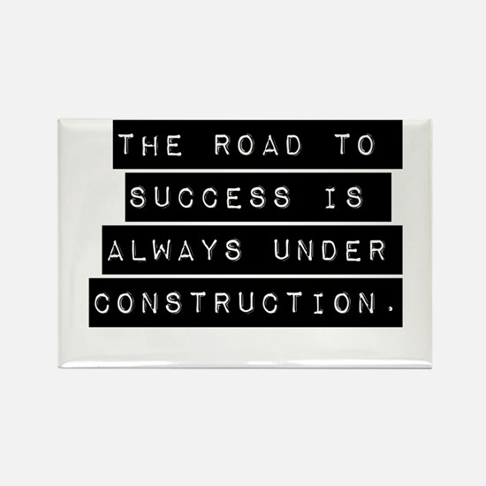 The Road To Success Magnets