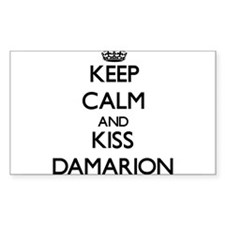 Keep Calm and Kiss Damarion Decal