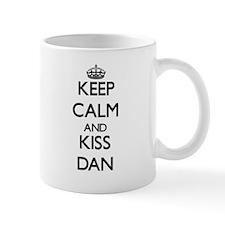 Keep Calm and Kiss Dan Mugs