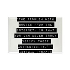 The Problem With Quotes Magnets